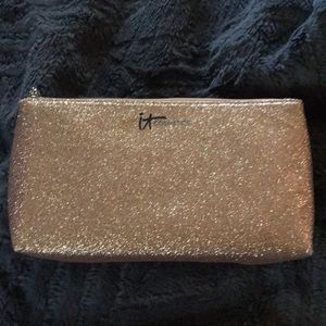 SALE❤️NEW IT Cosmetics GORGEOUS Glittery Gold Case